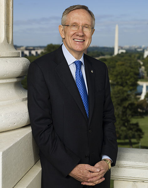 Harry Reid (D-NV), United States Senator from Nevada and Majority Leader of the United States Senate. Photo via Wikipedia.