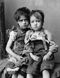 Two 19th Century orphans